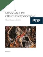 Mexicana de Ciencias Geologicas