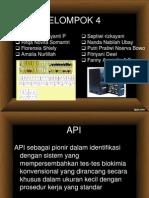 API dan bacT alert
