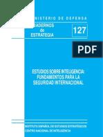 Estudios Sobre Inteligencia - Fundamentos Para La Seguridad Internacional