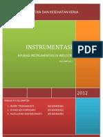 Aplikasi Instrumentasi Di Industri