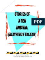 Stories of a Few Ambiyaa (Alayhimus Salaam)