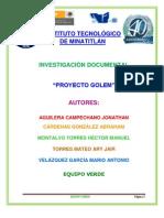 El Proyecto Golem (1)