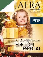 JaFra Oportunidades Diciembre 2012 | La Navidad es una Edición Especial
