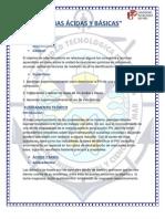 Informe de Laboratorio Acidos y Bases