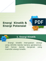 Energi Kinetik & Potensial Presentasi