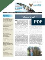 WES Newsletter Edisi  11 Maret 2010