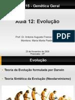 Aula 12- Evolução
