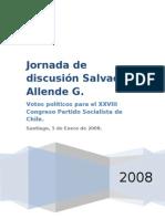 Jornada de Discusión Salvador Allende