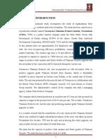 Organisational Study Report on Travancore Titanium Products Ltd