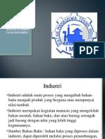 Industri Dan Klasifikasinya
