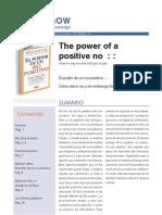 El poder de un positivo