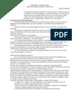 CONOCER LA EDUCACIÓN INSTITUCIONES, SUJETOS Y PRÁCTICAS