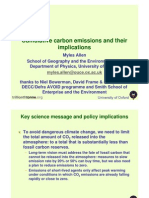 Allen Cumulative Carbon Emissions
