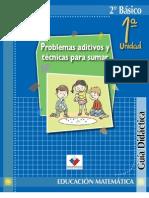 Guía Didáctica del profesor Matemáticas 2°