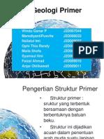 Struktur Geologi Primer