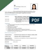 Sharmila Podder.cv.New