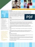 CaseStudy SAfrica MobileHealthInfoSys Eng FINAL Sept2012