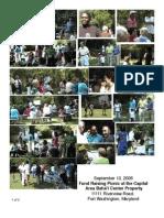 Fund Raising Picnic - September 2006