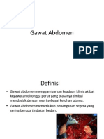 Gawat Abdomen