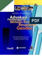 Modul Advokasi Penganggaran Responsif Gender