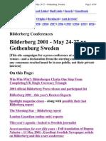 Bilderberg agenda