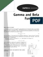 Gamma and Betta Function Adv Calculus Schaum