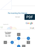 Re-inventing the Internet