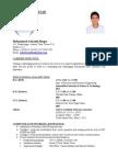 CV - Mohammod Ashraful Hoque