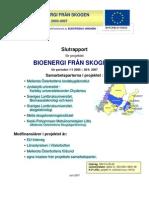 Bioenergi från skogen - del 2. SLUTRAPPORT 2005-07