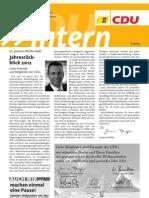 CDU intern Dezember 2012