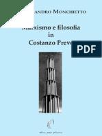 Alessandro Monchietto - Marxismo e Filosofia in Costanzo Preve