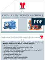 Presentation on Thermax Chiller unit