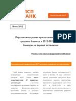 SME Forecasts 2012-2013