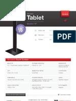 "Totem Multimediale 10"" - Modello Tablet"