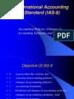 International accounting standard 8