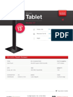 "Totem Multimediale 13"" - Modello Tablet"