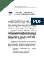 Capitolul 1 Sistemele Informatice in Activitatea Economica