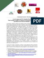 Accord commercial UE-Colombie-Pérou
