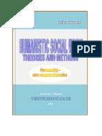 Petru Stefaroi - Humanistic Social Work Theories and Methods. Personality - Core Resource of Practice