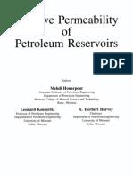 Honarpour - Relative Permeability of Petroleum Reservoir