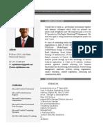 Resume IT Specialist Web SocialMedia Infrastructure