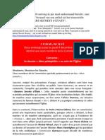 Marc Toussaint Enquete Dossiers Secrets d Etats Novembre 2010