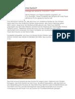 Das Kreuz - ein christliches Symbol