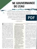 Vers une gouvernance de l'eau