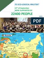 Irkutsk Cleanup day presentation