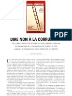 Dire non à la corruption