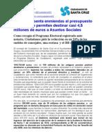 Nota Enmiendas Pptos 2013 CSC
