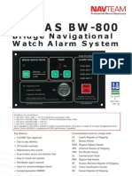 BW-800 BNWAS Brochure 2012 - Navteam