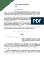 RDC PRODUTOS DE USO ÚNICO