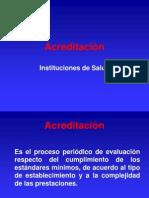 acreditación, en gestión de enfermeria